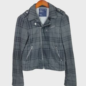 American Eagle Motorcycle Style Jacket-Med